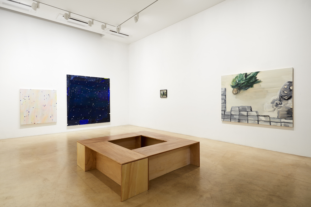 Unseen Garden, 1st floor installation view at ONE AND J.GALLERY, 2016