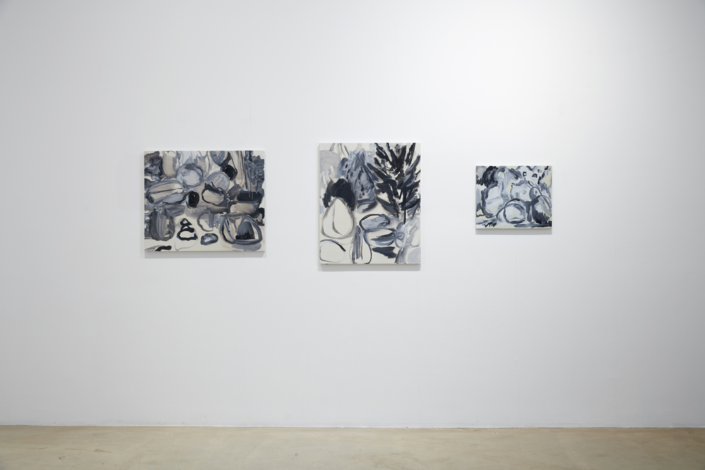 Unseen Garden, 2nd floor installation view at ONE AND J.GALLERY, 2016