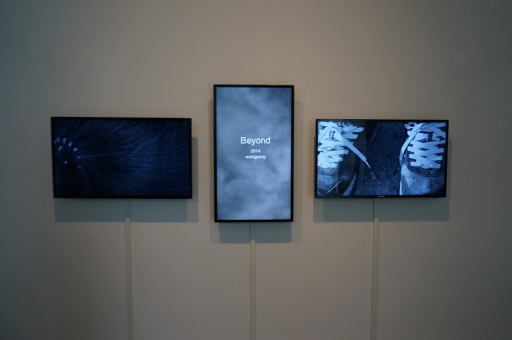 Wang Peng, Beyond, Installation view at ONE AND J.GALLERY, 2014