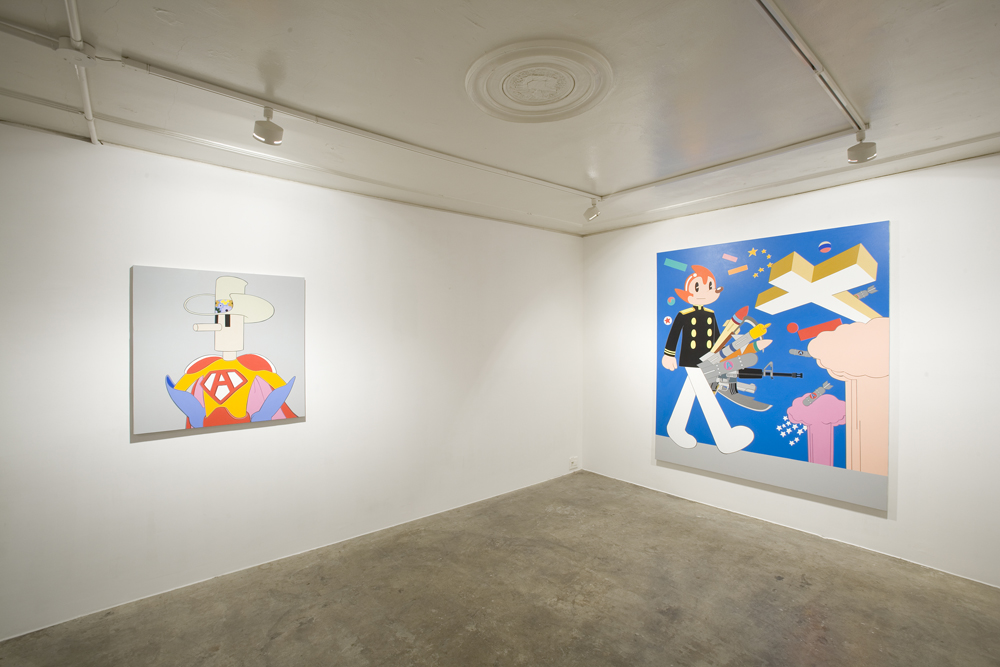 Dongi Lee, Smoking, Installation view at ONE AND J. GALLERY, 2006