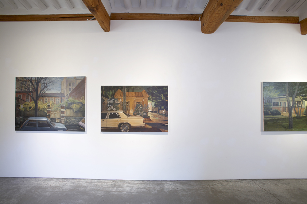 Dongwook Suh, My blue baggage, Installation view, ONE AND J.GALLERY, 2009