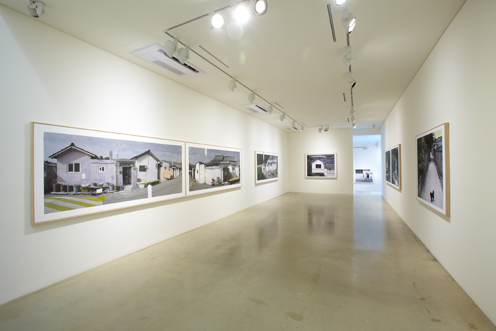 Honggoo Kang, The house, Installation view, ONE AND J.GALLERY, 2010