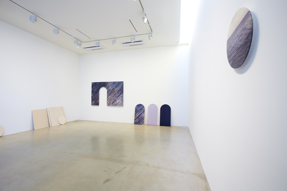 Yuki Kimura, Teppei Kaneuji, Chiba mayasa, Sculpture by other means, Installation view at ONE AND J.GALLERY, 2012