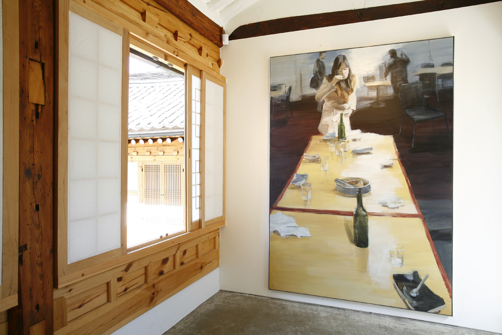 Jina Park, Eat, sleep, have visions, Installation view, ONE AND J.GALLERY, 2008