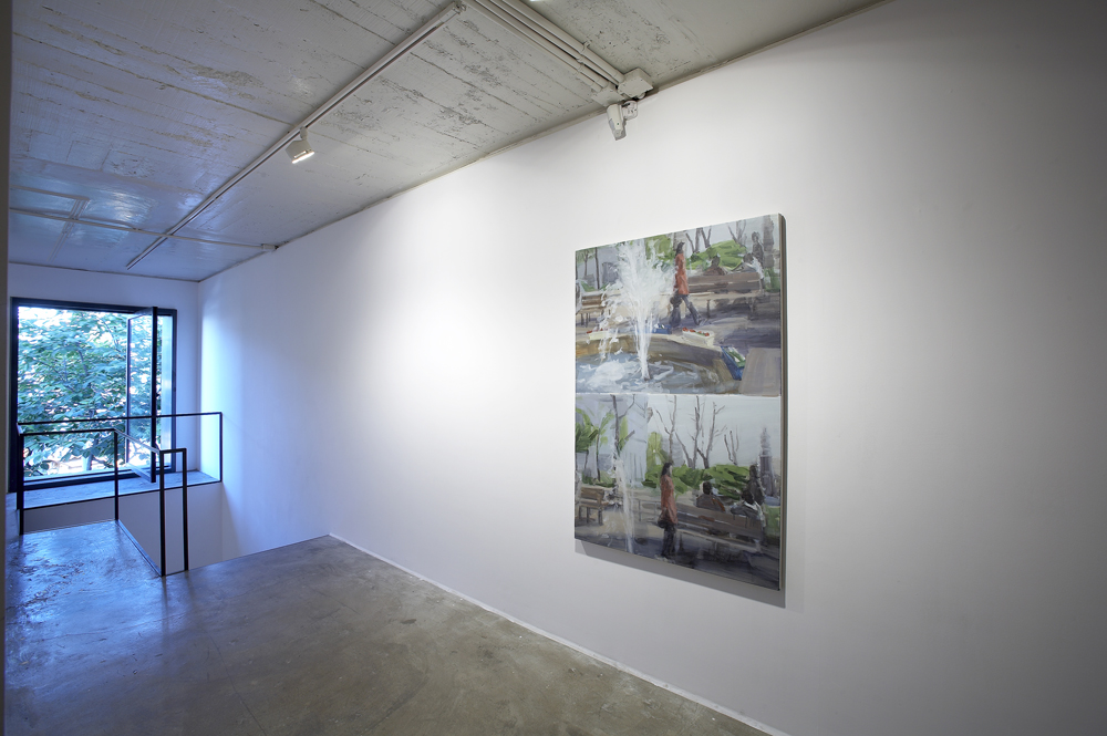 Jina Park, Excursion, Installation view, ONE AND J.GALLERY, 2007