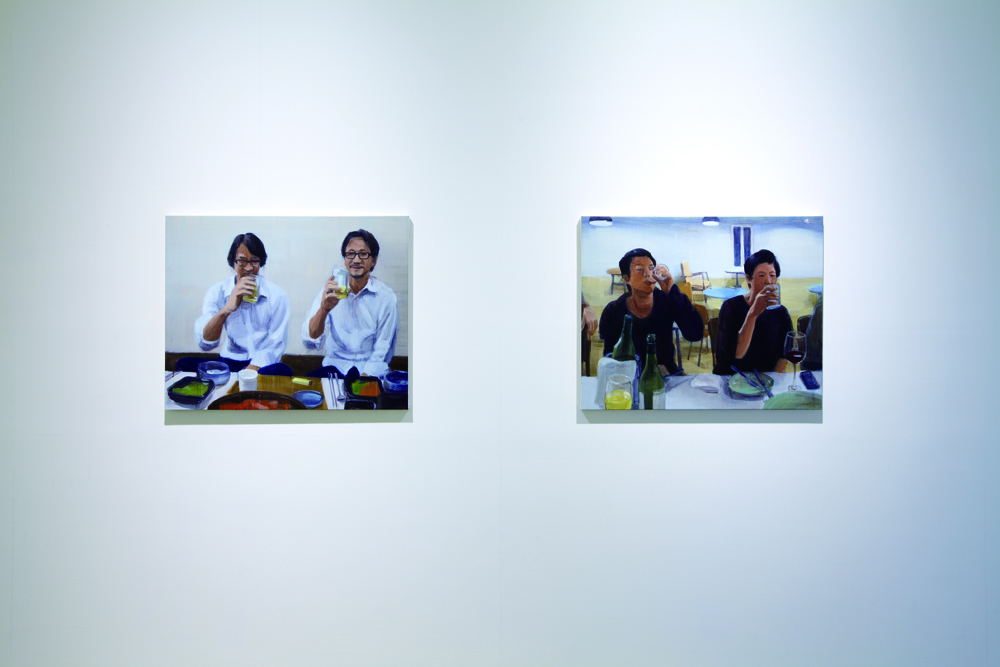 Jina Park, One and one, Installation view at ONE AND J.GALLERY, 2012