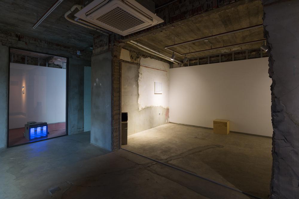 Taeyoon Kim, Jung-Ang Manpower, installation view at Opsis Art, 2015