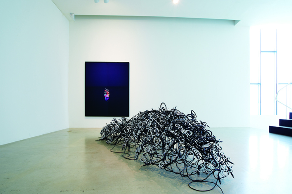 Jung Lee, Day and night, Installation view at ONE AND J.GALLERY, 2013