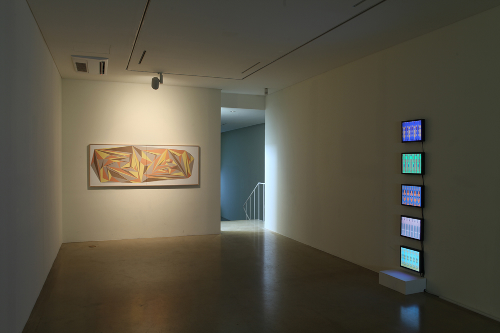 Taeyoon Kim, Eun Sun Lee, Kyung Woo Han, We are just bits, Installation view at ONE AND J.GALLERY, 2013