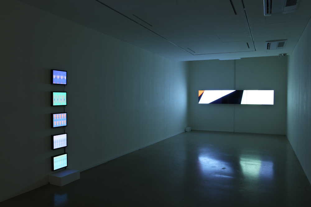 Taeyoon Kim, We Are Just Bits, Installation View at ONE AND J., 2013
