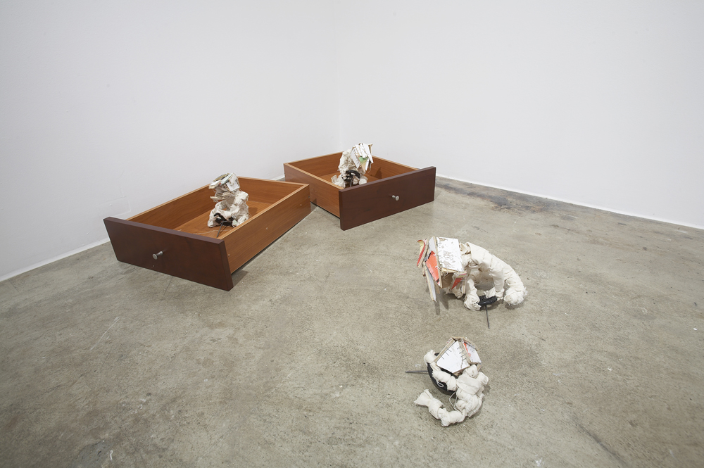 Lionel Sabatte & Kyunghwan Kwon, Installation view at ONE AND J.Gallery, 2007
