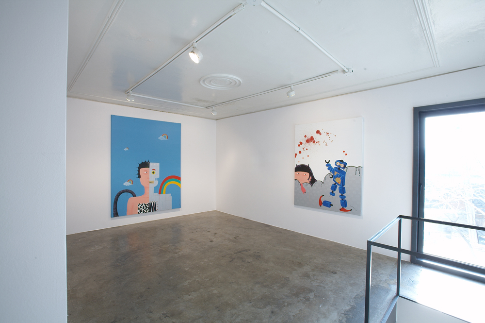 Xu Maomao, Wonderland, Installation view, ONE AND J.GALLERY, 2007
