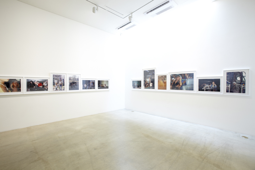 Nikki S. Lee, Projects, parts, and layers, Installation view at ONE AND J.GALLERY, 2011