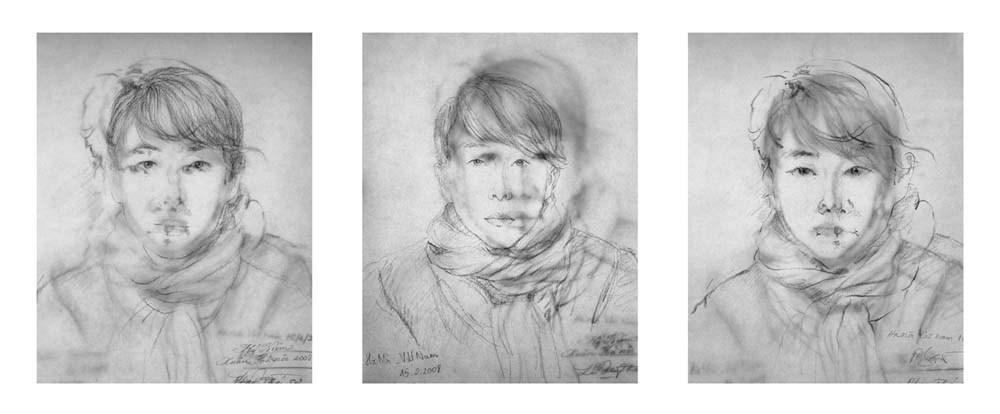 Nikki S. Lee, Hanoi 1,2,3, C-print, 45.7x104cm, 2007