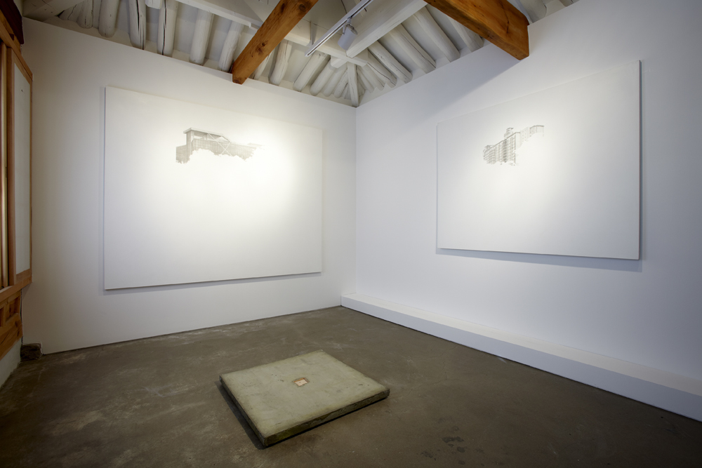 Soohyeok Shin, One day, somewhere, Installation view, ONE AND J.GALLERY, 2009