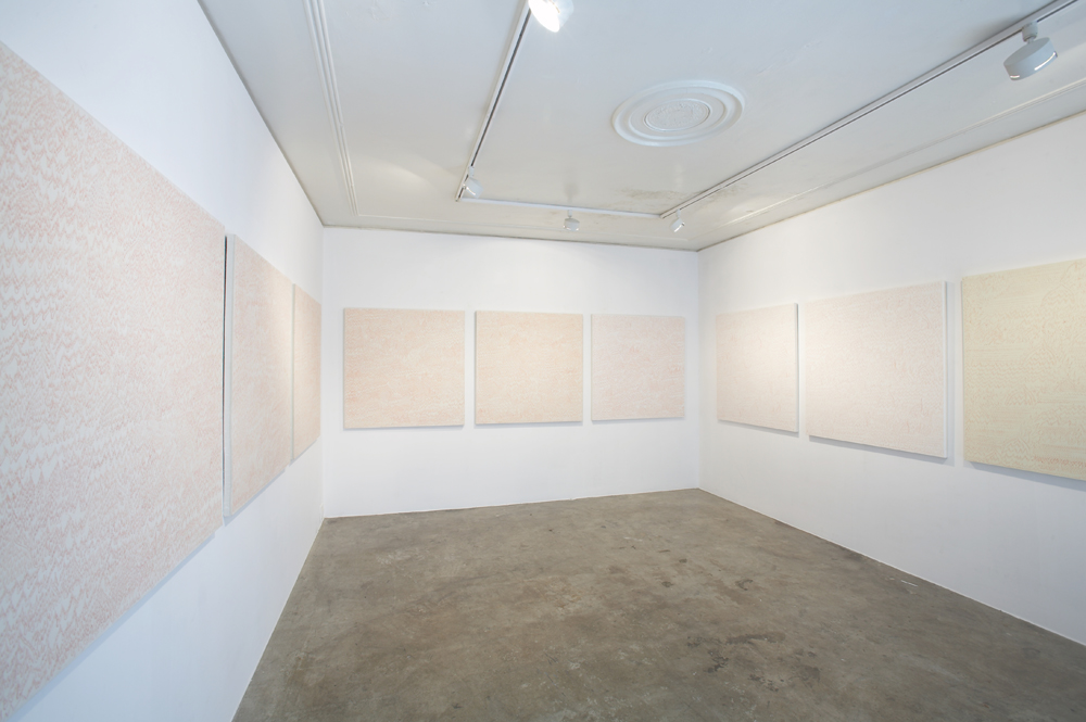 Sookyung Lee, Flame, Installation view, ONE AND J.GALLERY, 2006