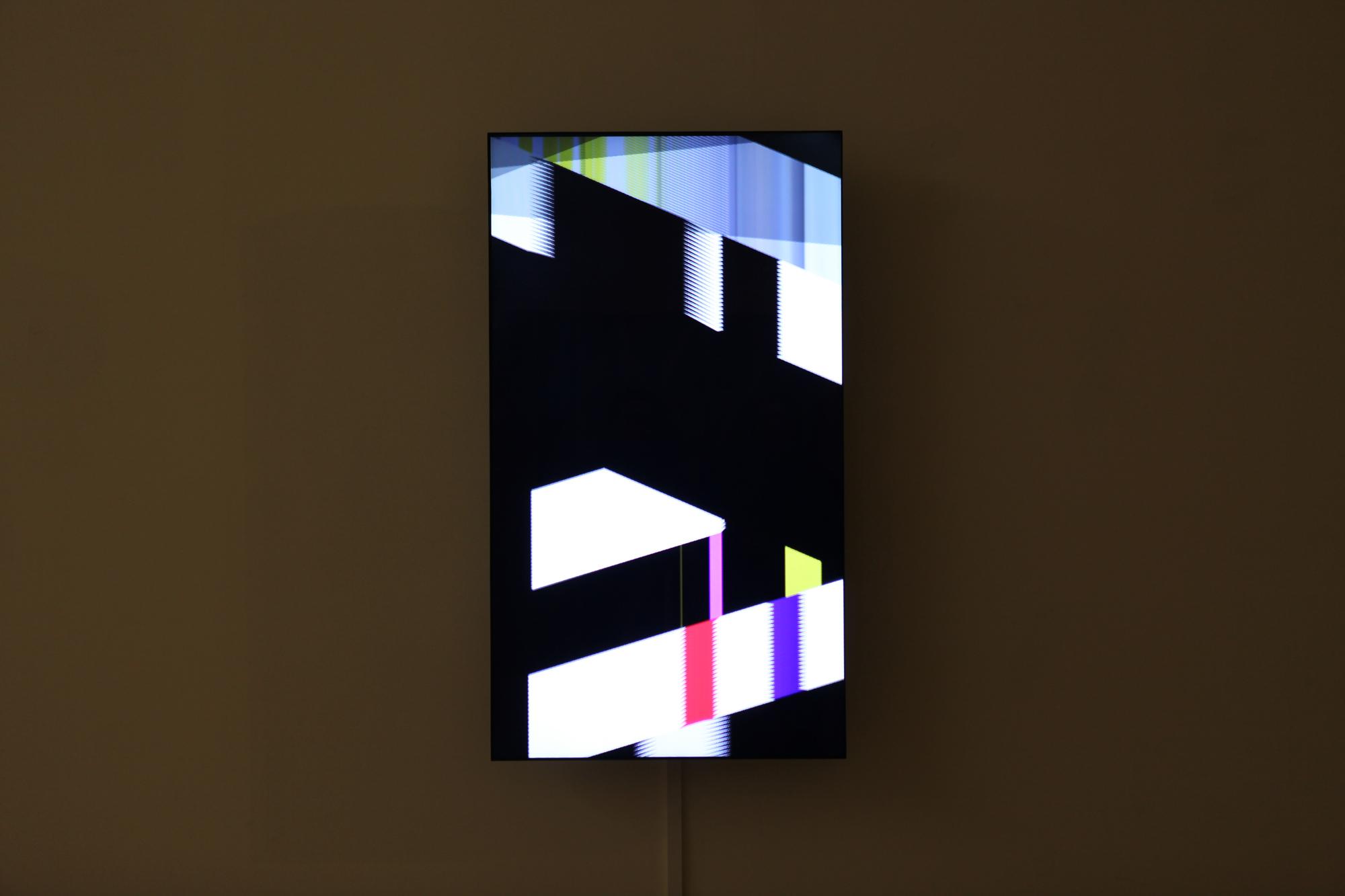 "Taeyoon Kim, Sophisticatedfunk, custom software, 47"" monitor, 2012"