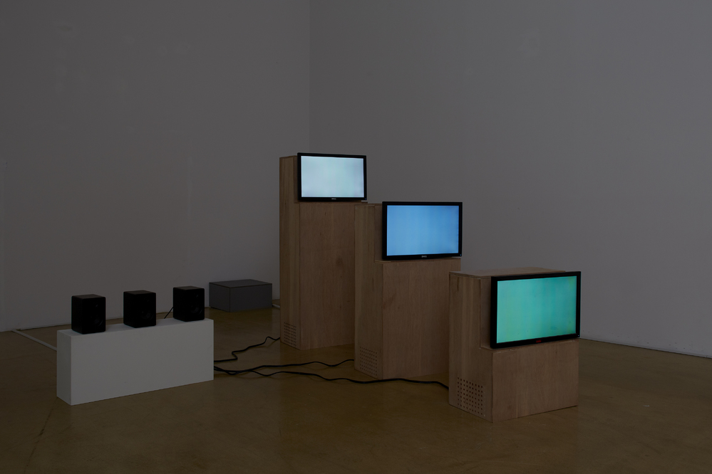 Taeyoon Kim, Triple Rhythm, 3ch video, 7 videos in random loop, variable size, 2014
