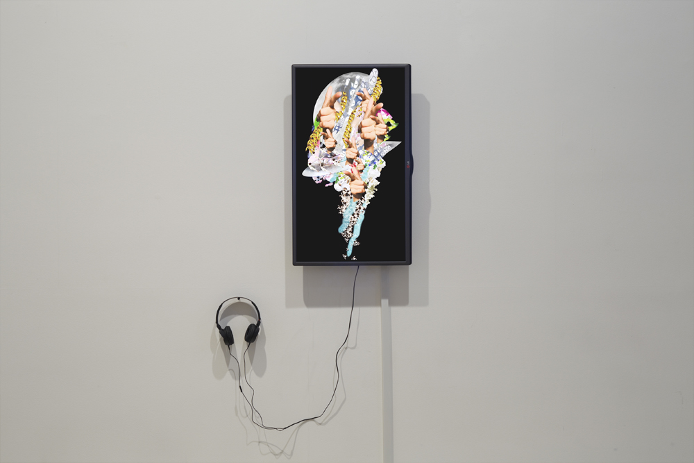 Torrent, Installation view at ONE AND J. Gallery, 2015