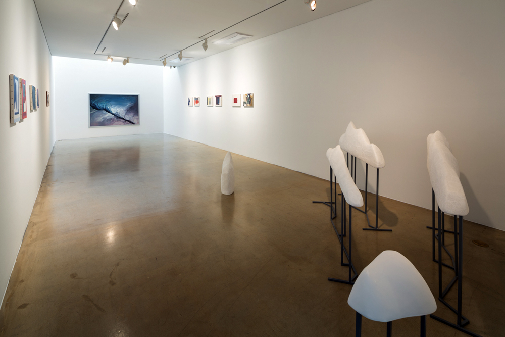 Sporadic Sway part 2, Installation view at ONE AND J.GALLERY, 2014
