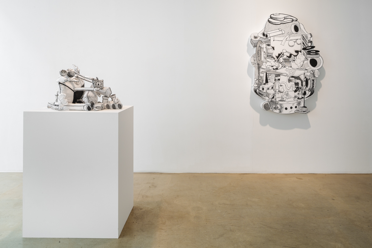Sweet Pickled Phantom, Installation view at ONE AND J.Gallery, 2015