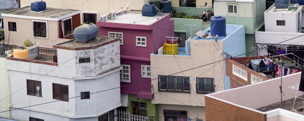 강홍구, 감천 04, 피그먼트 프린트, 90x225cm, 2012, ONE AND J