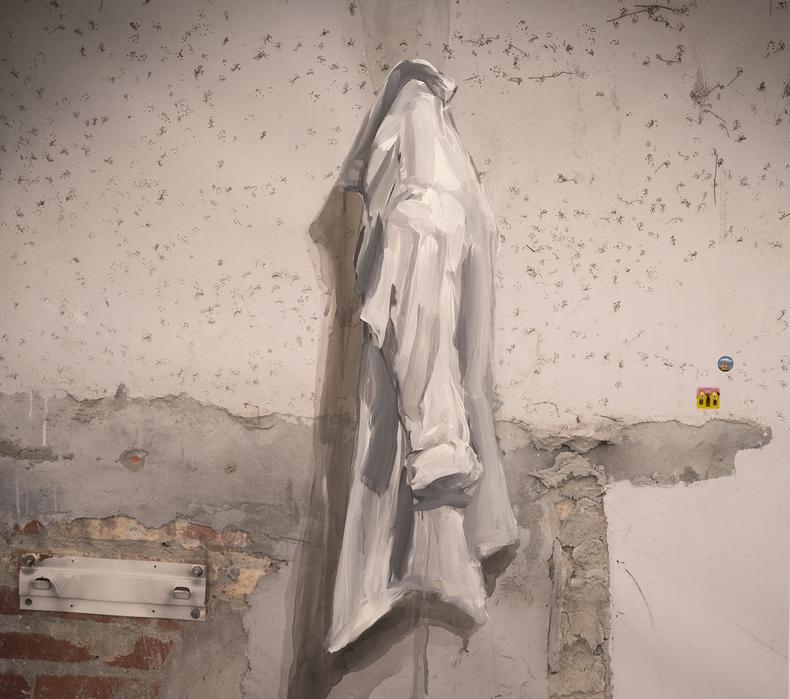 강홍구, 셔츠, 디지털 프린트, 90x100cm, 2016, ONE AND J