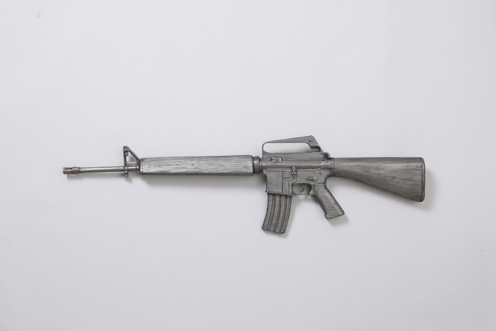 권경환, A Gun for Writing_2, Pencil Lead, 101x27x7cm, 2010