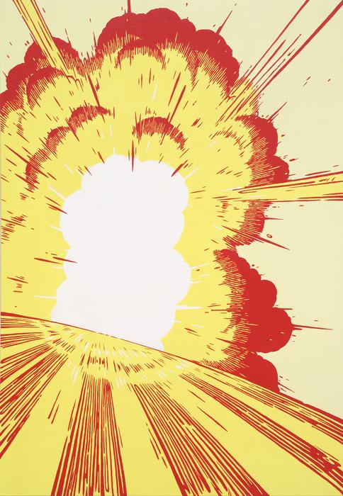 권경환, Occidental Explosion, acrylic on canvas, 162.2 x 97cm, 2014