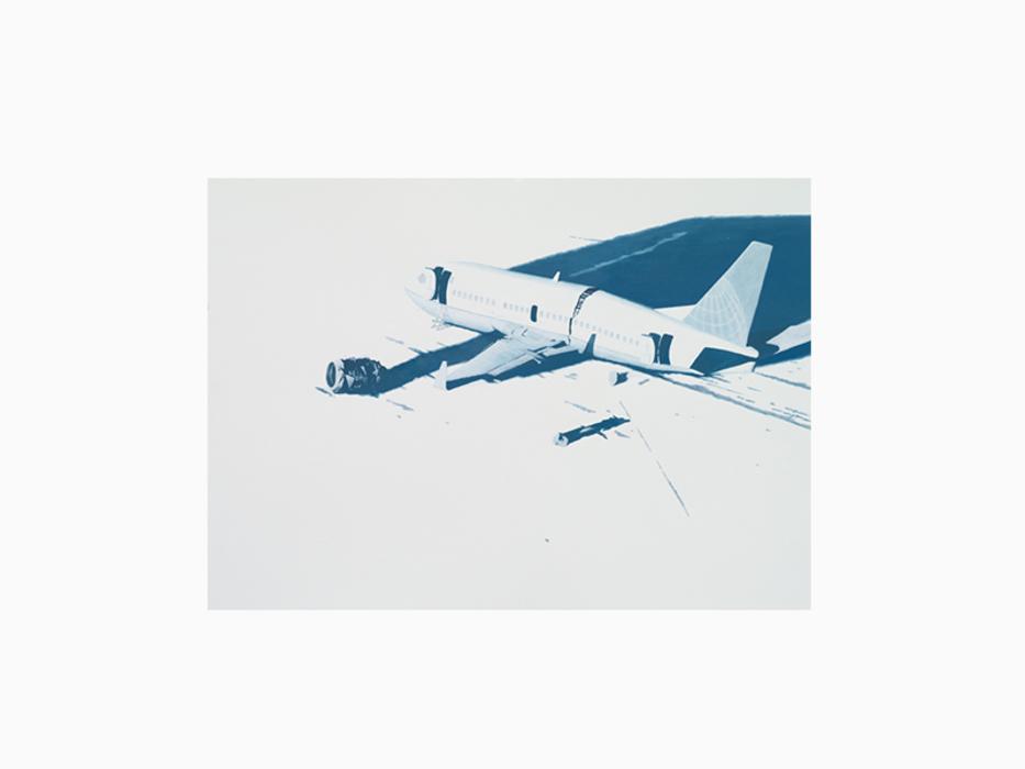 권경환, Remain-5, Acrylic on paper, 55x77cm, 2012