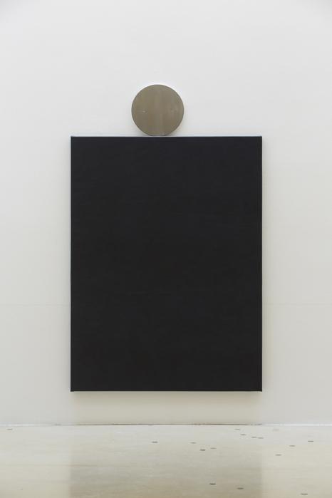 길초실, Doubles, 가죽, 알루미늄, 나무틀, 145x90cm, 2014