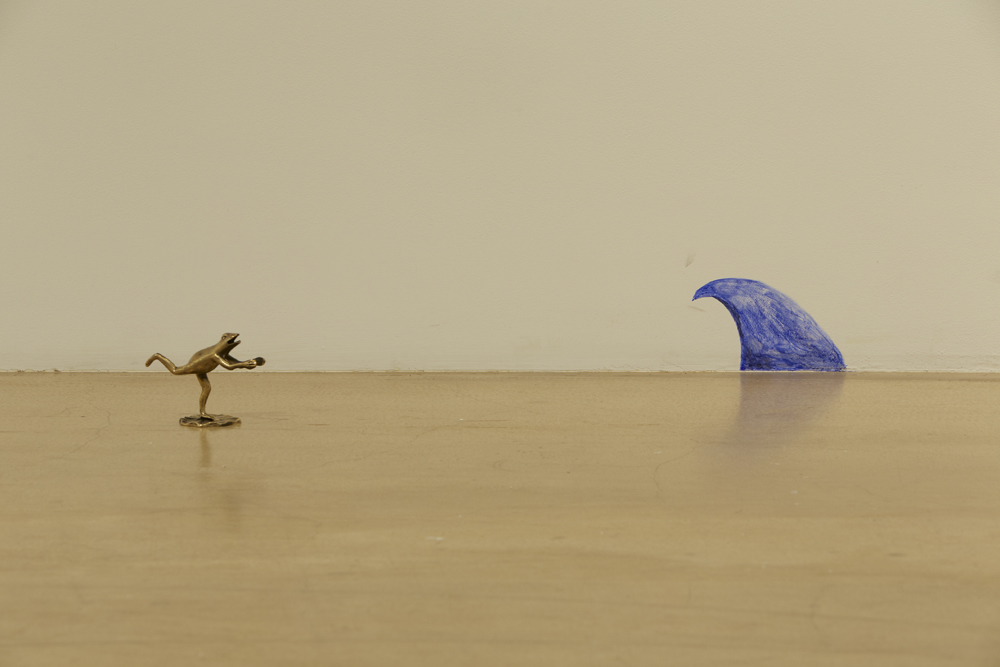 길초실, Yours, Febreze Brothers, 개구리, 장미꽃잎, MDF, 2014