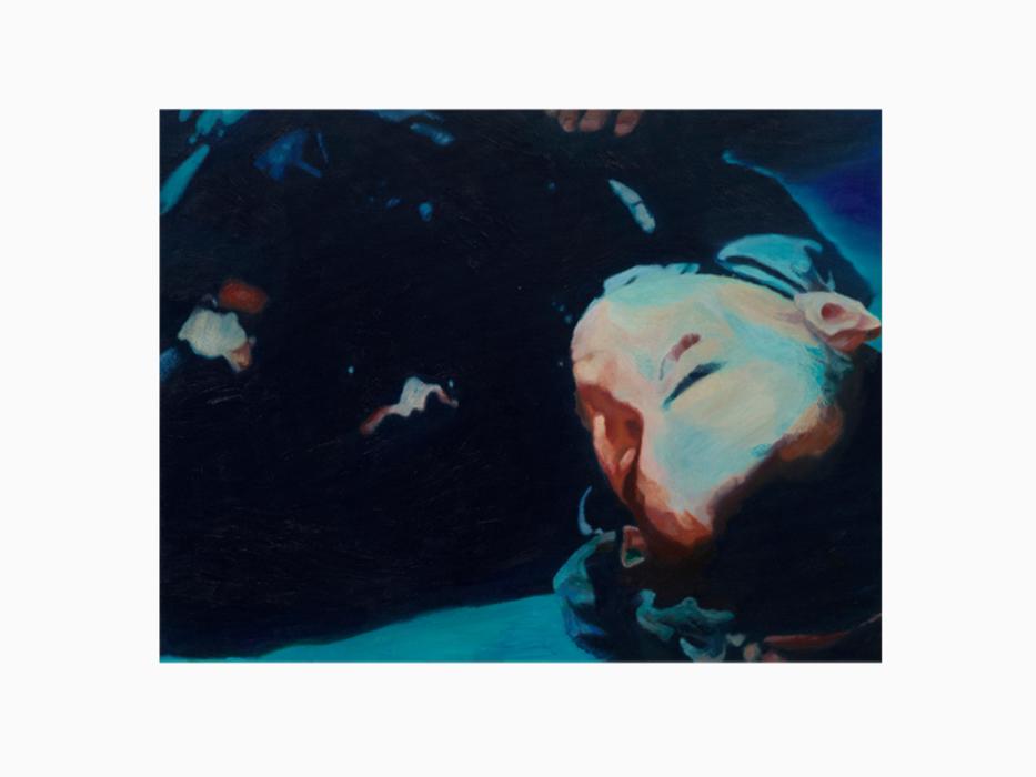 서동욱, S# Collapsed head, 캔버스에 유화, 50x65.1cm, 2011