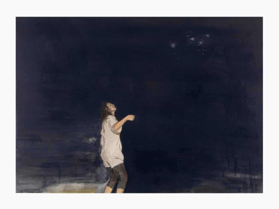 서동욱, 열대의 밤, 캔버스에 유화, 65.1x90.9cm, 2008