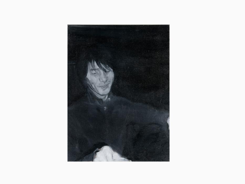서동욱, Monsieur Suh, 캔버스에 유화, 65.1x53cm, 2006