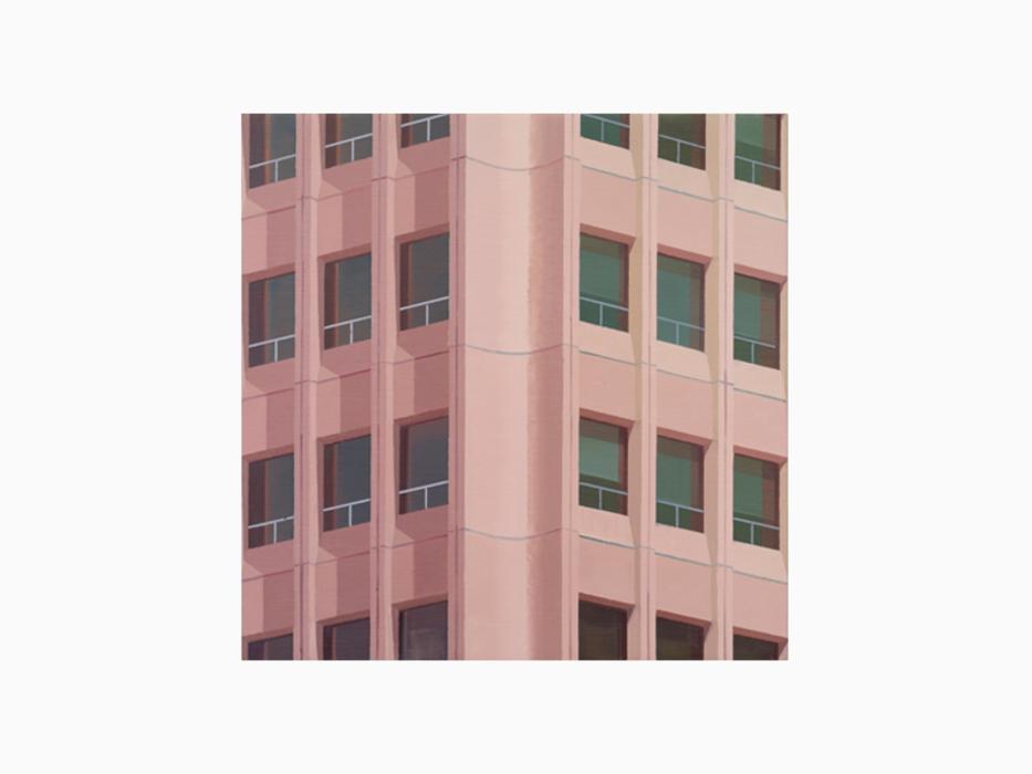 김수영, Chon Kun Dang Building, 캔버스에 유화, 50x50cm, 2011