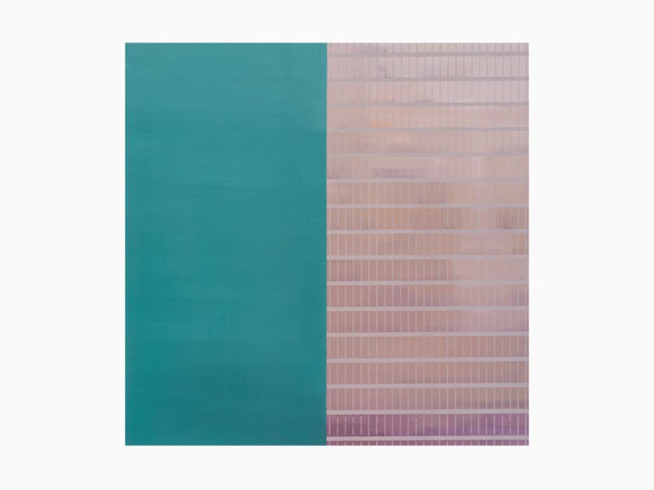 김수영, Two Sides, 캔버스에 유화, 72.7x72.7cm, 2010