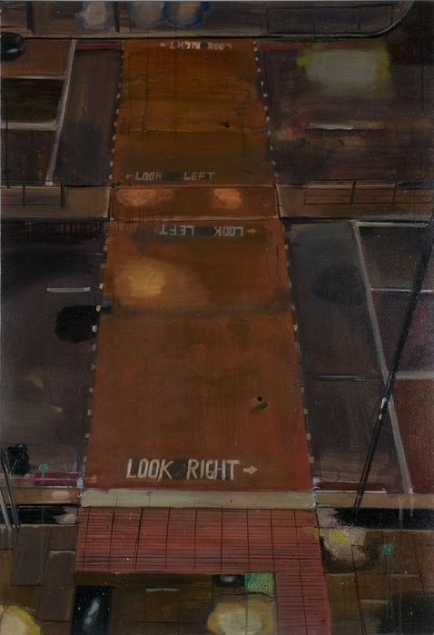 서동욱, Finchely road, 캔버스에 유화, 91x116.8cm, 2007