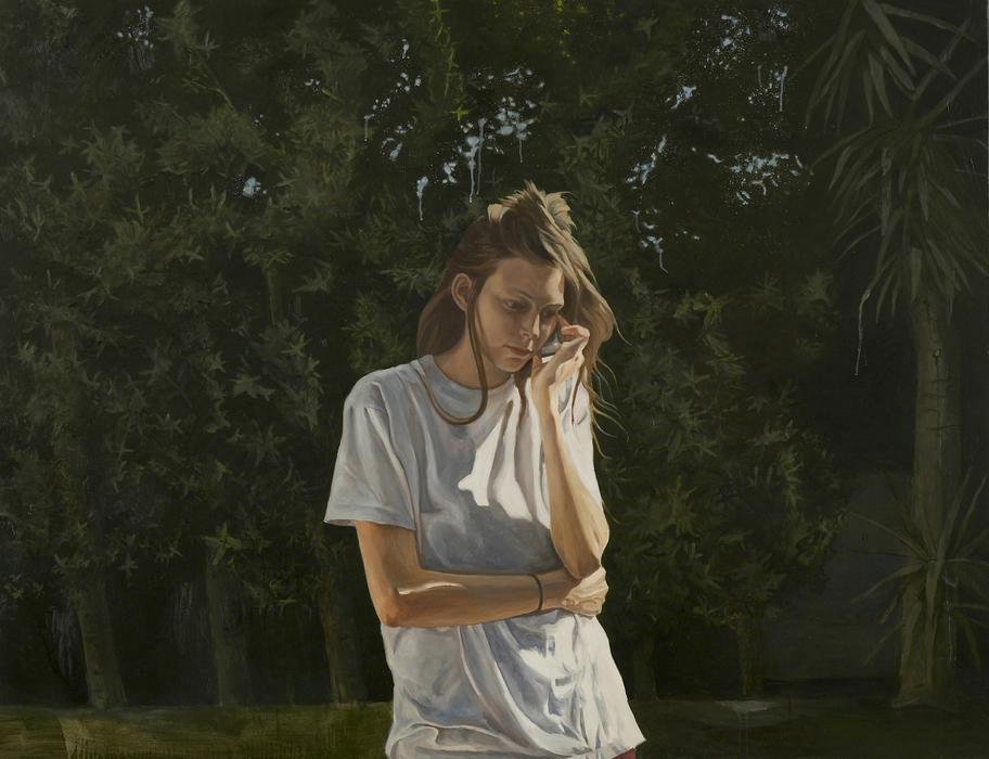 서동욱, Doris R, 캔버스에 유화, 112x145.5cm, 2008