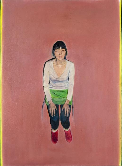 서동욱, 바라보는 미미, 캔버스에 유화, 130x97cm, 2005