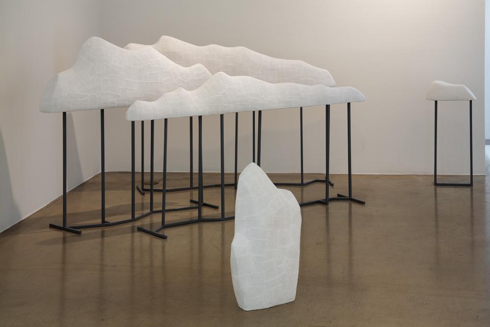 김채린, 겹쳐진 협곡 No.2, 캐스트, 금속, 2014
