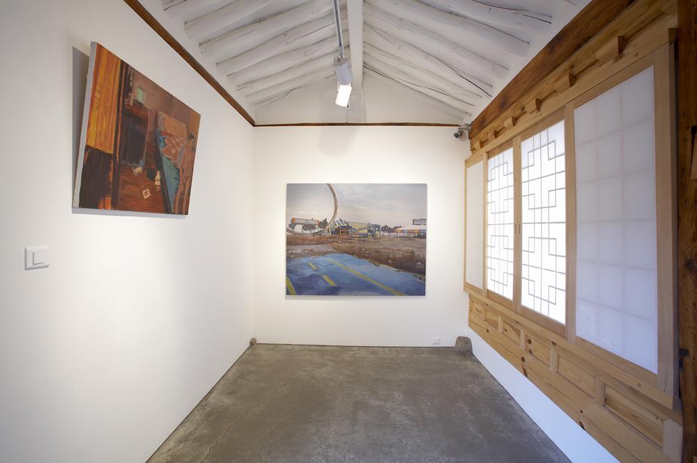 서동욱, 나의 푸른 수화물, 전시장 뷰, 2009