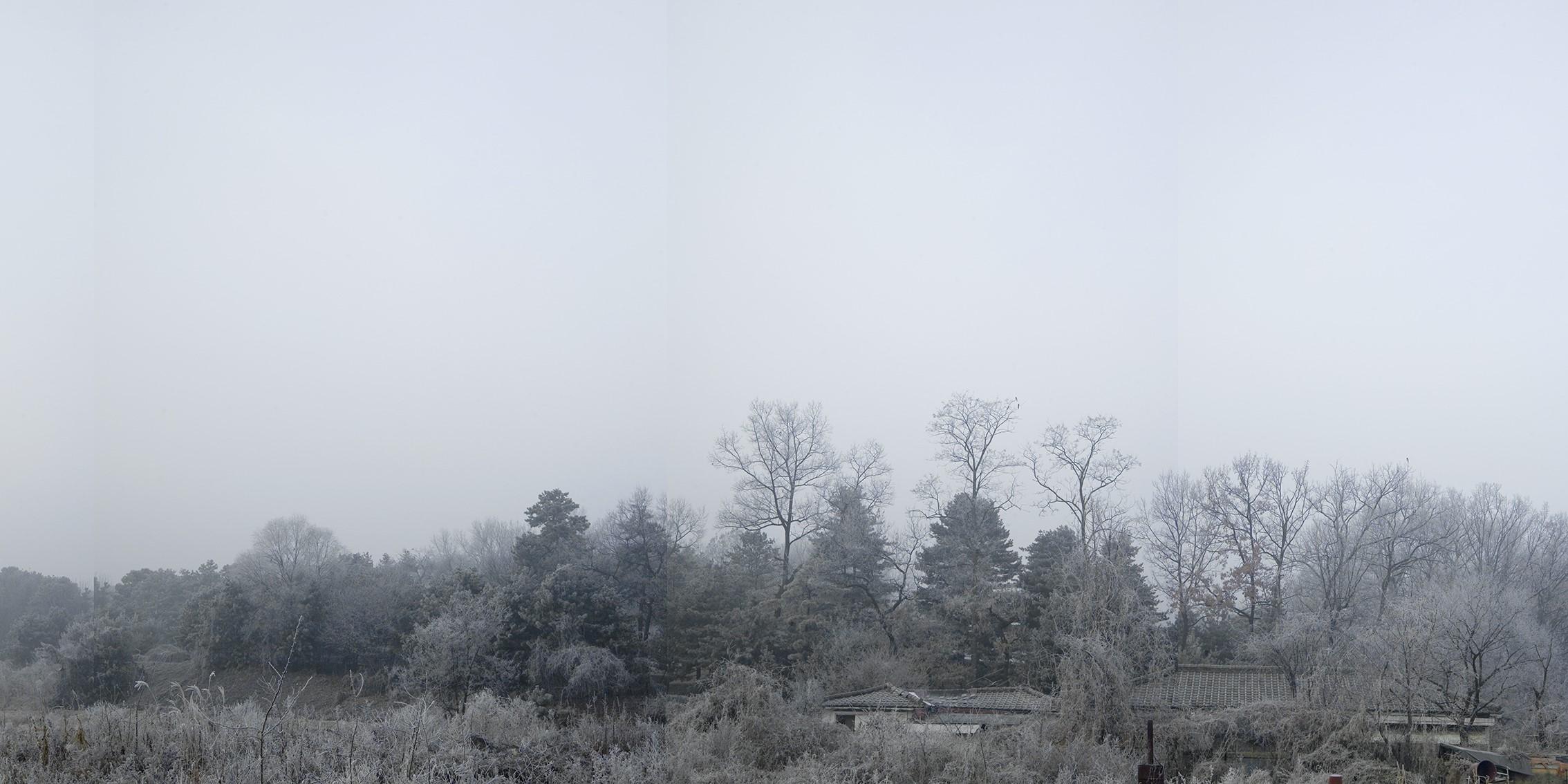 강홍구, 안개와 서리 19, 디지털 프린트, 98.3x178cm, 2008