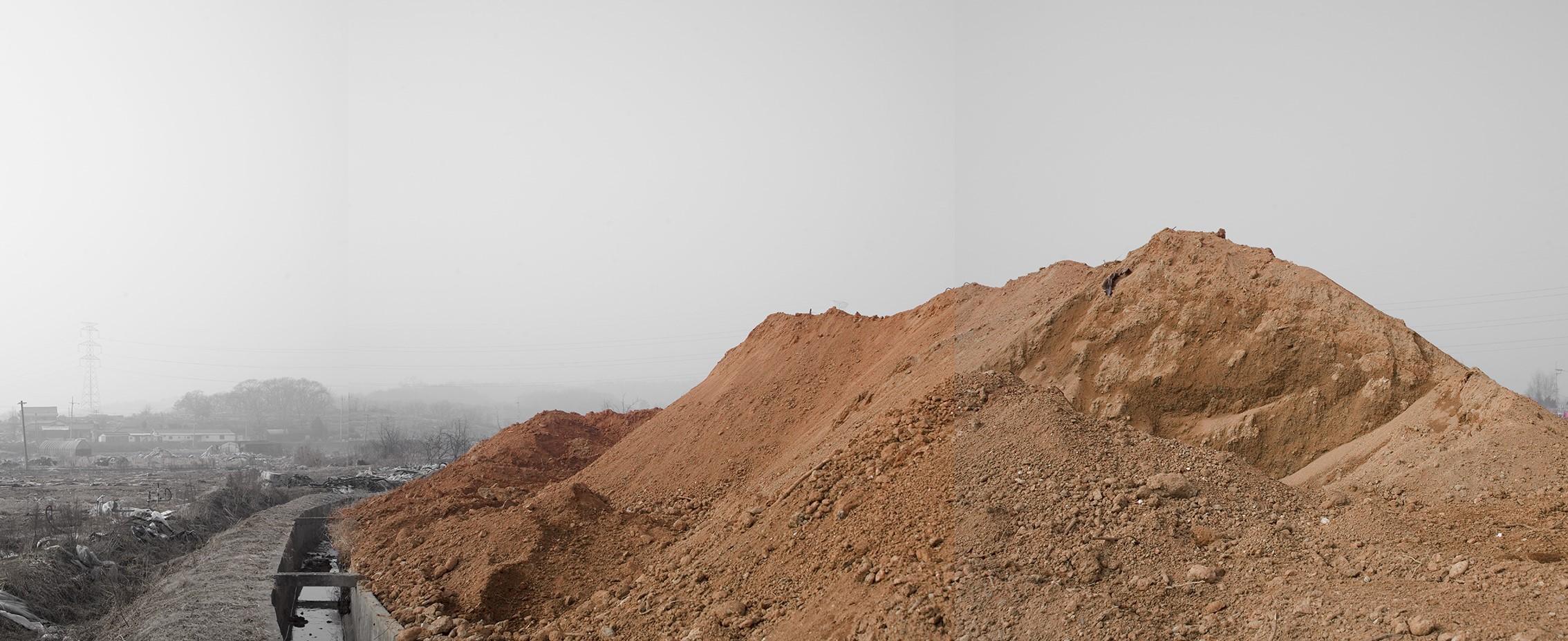 강홍구, 안개와 서리 29, 디지털 프린트, 69.4x152cm, 2008