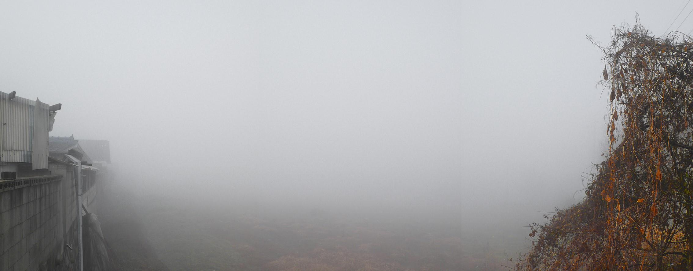 강홍구, 안개와 서리 31, 디지털 프린트, 62.5x150.5cm, 2011