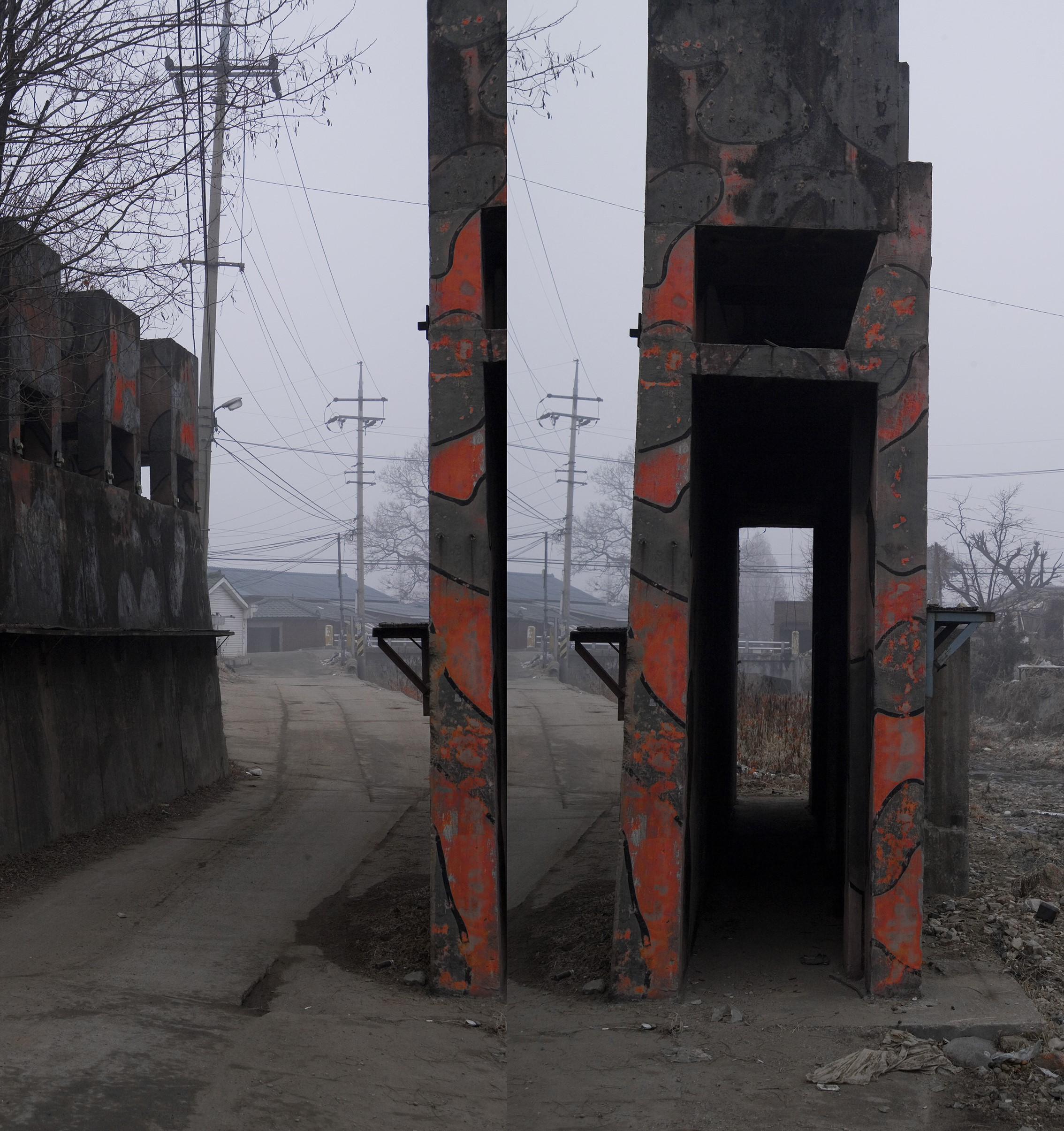 강홍구, 안개와 서리 9, 디지털 프린트, 56.3x54cm, 2008