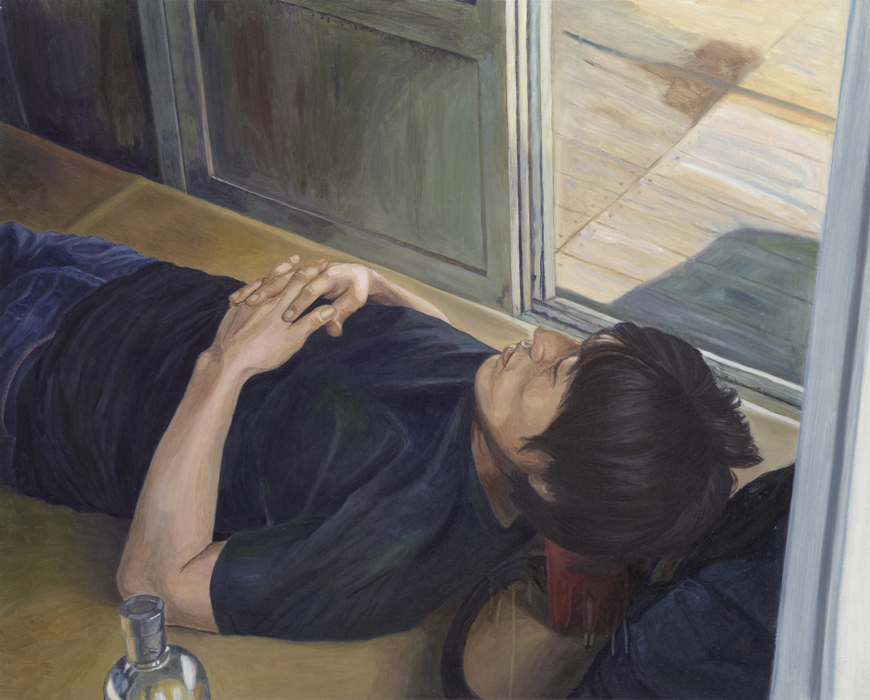 서동욱, J.B, 캔버스에 유화, 80.3x100cm, 2013