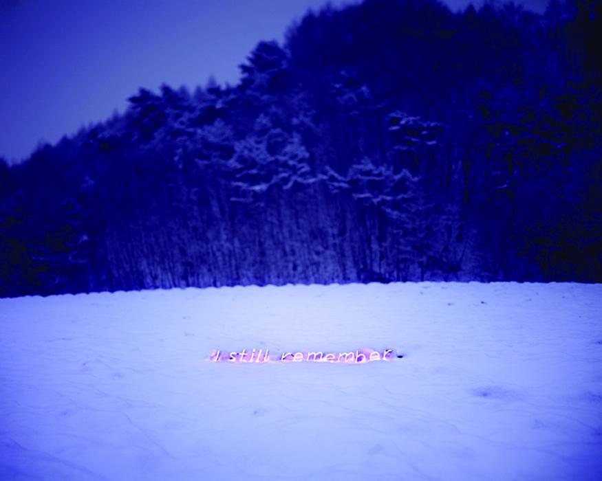 이정, I still remember, 디지털 C 프린트, 136x170cm, 2010