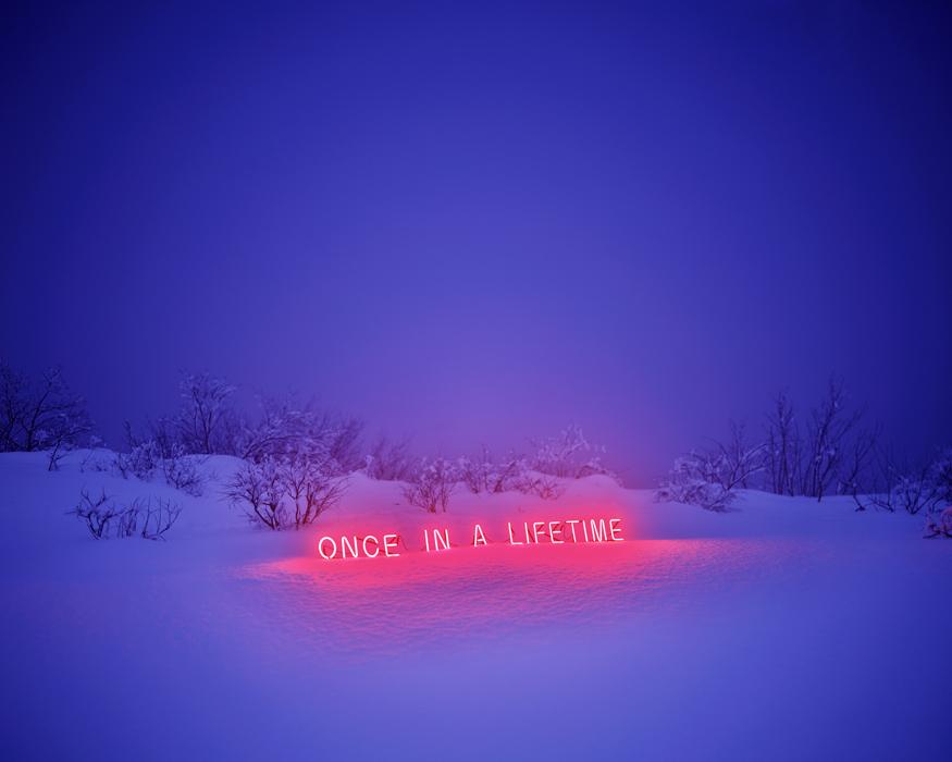 이정, Once In a Lifetime, 디지털 C 프린트, Diasec, 170x136cm, 2011