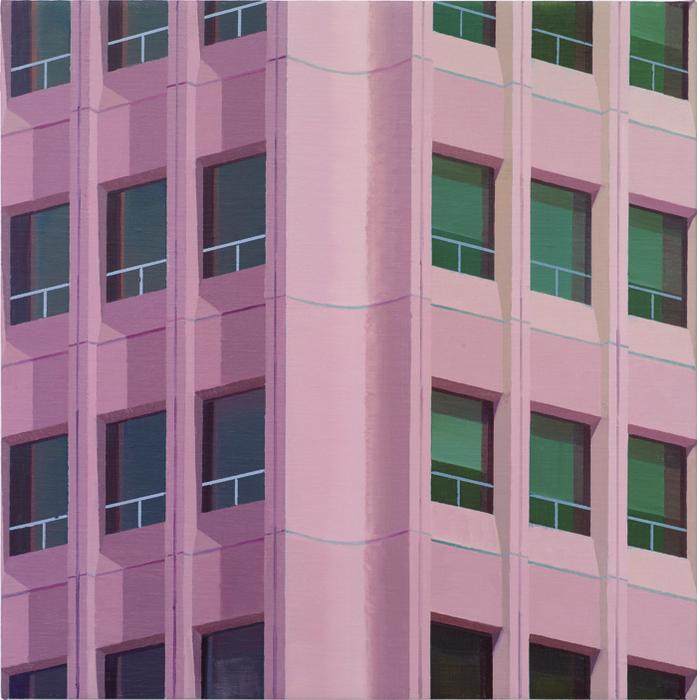 김수영, Both sides, 캔버스에 유화, 50x50cm, 2011
